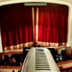 Theater spotlight detail — Stock Photo #57363969