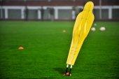 Soccer training dummy — 图库照片