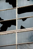 Industrial broken windows — Photo