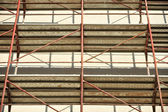 Scaffolding with no people — Stock Photo