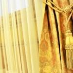 Curtain decorative tassel — Stock Photo #60562525