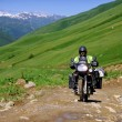 Постер, плакат: Adventure motorcycling in Caucasus