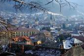 Old town of Brasov in winter — Stock Photo
