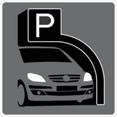 Parking — Stock Vector