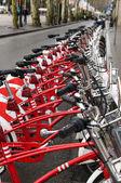 赤い自転車 — ストック写真