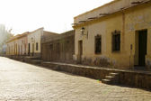 Street in a small town in northwestern Argentina — Stock Photo