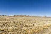 Grass in plateau highland — Stock Photo