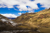 Cuesta del Obispo in Los Cardones National Park Argentina — Stock Photo