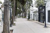Internal street of Recoleta — Foto de Stock