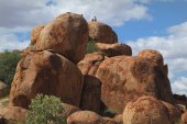Australia, Devils Marbles — Stock Photo