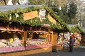 Austria, christmas market in vienna — Stock Photo