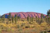 Australia, roccia ayers — Foto Stock