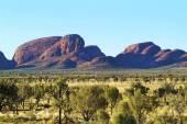 Australia, NT, Kata Tjuta, — Stock Photo