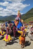 Bhutan, Haa, Tshechu, 1000-260 — Stock Photo