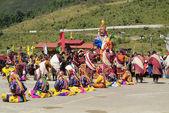 Bhutan, Haa, Tshechu, 1000-270 — Stok fotoğraf