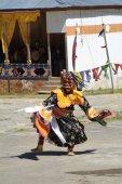 Bhutan, Haa, Tshechu — Stock Photo