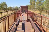 Australia, NT, Ghan Museum, — Stock Photo