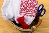 刺繍の服 — ストック写真