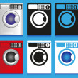 Washing machine — Stock Vector #52680097