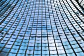 Glass wall — ストック写真