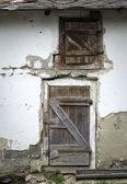 Door to the pigsty — Stock Photo