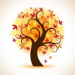 Autumn Tree — Stock Vector #55139667