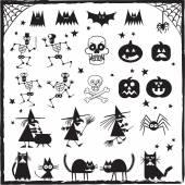 Halloween prvky návrhu — Stock vektor