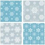 Snowflake Pattern Set — Stock Vector #57354349