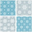 Snowflake Pattern Set — Stock Vector #57354349