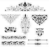 Ornament Set — Stock Vector
