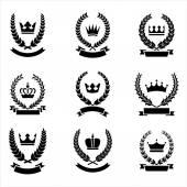 Heraldry Emblems — Stock Vector