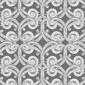 Modèle de papier peint damassé — Vecteur