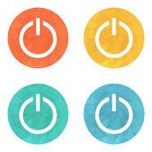 Start power button icon — Stockvector