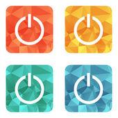 Start power button icon — Stock Vector