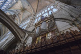 Organ of the Cathedral of Avila, Spain — Stock Photo