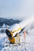 Sněhová děla, sněhová děla — Stock fotografie