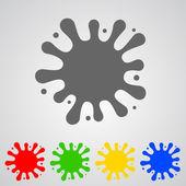Color Blob — Stock Vector