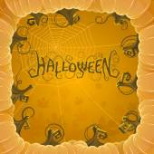 Cover halloween — Stock Vector