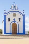 Small church in Ayamonte, Huelva. Spain — Stock Photo