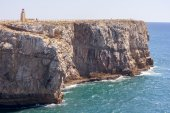 Cliff of Sagres — Stock Photo