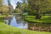 Lake in The National Botanic Gardens — Stock Photo