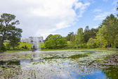 Fountain of the Triton Lake at Powe — Stock Photo