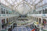 Stephens Green centrum — Stockfoto