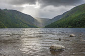Glendalough lake — Stock Photo