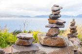Stones tower — Stock Photo