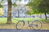 Bike at the park — Stock Photo