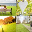 Love pictures set — Stock Photo #60584629