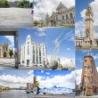 Belfast city collage — Stock Photo #60780191