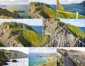 Carrick a rede collage — Stock Photo