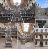 Kilmainham Gaol collage — Stock Photo